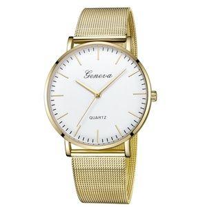 ❤️NEW❤️ Luxury Geneva Stainless Steel Quartz Watch